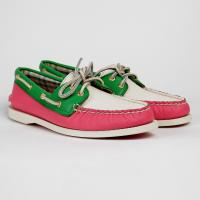 Топсайдеры Sperry Pink/Green/White - (SP-9826306)
