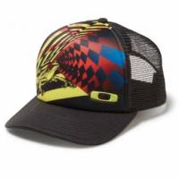 Кепка Oakley Gas Can Trucker Black/Red  91218-009