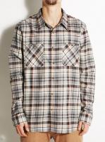 Рубашка с длинным рукавом Long Sleeve Classic Flannel (New Khaki) 401565-323