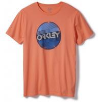 Футболка Oakley Factory Circle Tee Coral Glow 453624-823