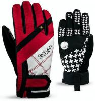 Dakine Electra Glove Red Houndstooth 1300-480