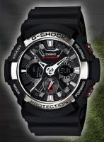 Женские спортивные часы Casio G-Shock GA-200BW-1AER
