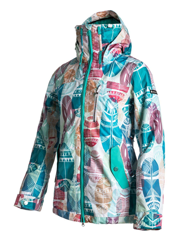 ac7e3b7886c8 Женская куртка Roxy Wildlife Printe W SJ WTWSJ414